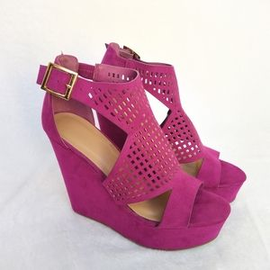 Bamboo wedges size 8
